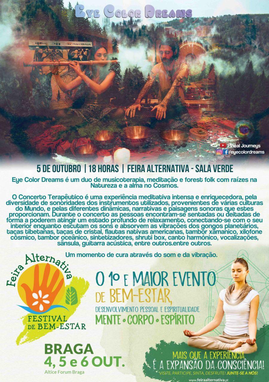 Concerto Terapêutico - Feira Alternativa de Braga