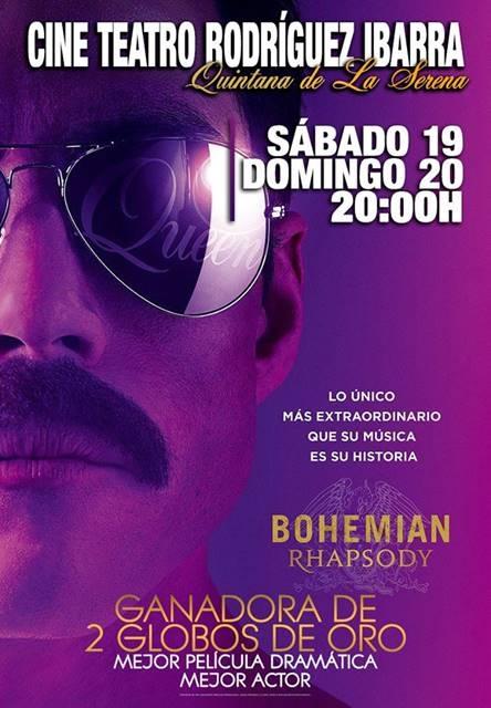 Proyección 'Bohemian Rhapsody' || Cine Teatro Rodríguez Ibarra