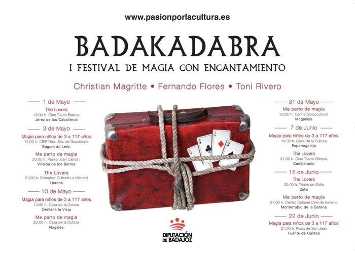 BADAKADABRA | 1 Festival de Magia con Encantamiento de la Provincia de Badajoz