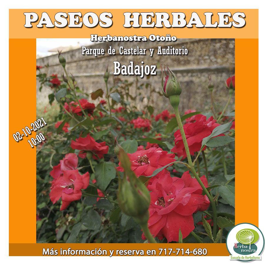 Paseo herbal por Badajoz