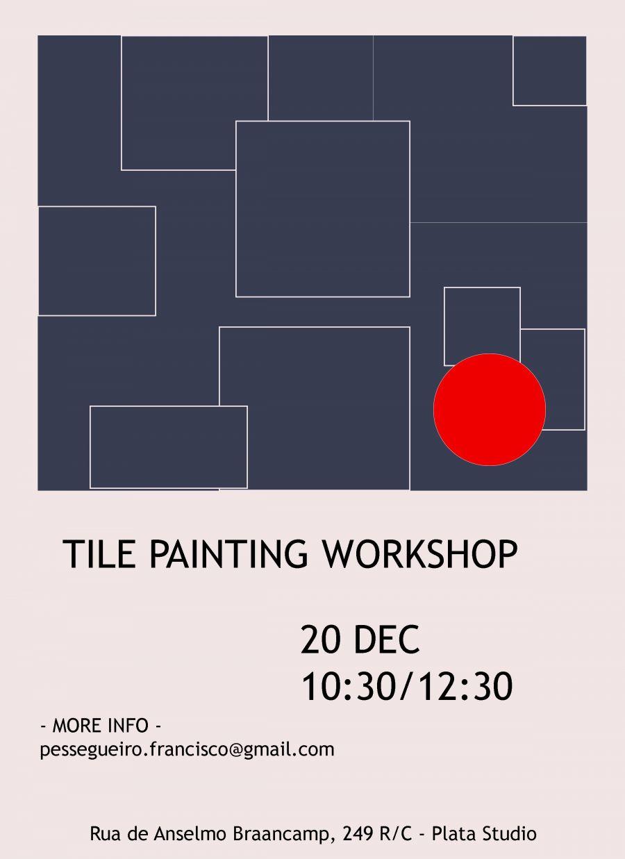 Workshop de Pintura de Azulejo - Venham fazer uma Prenda original !