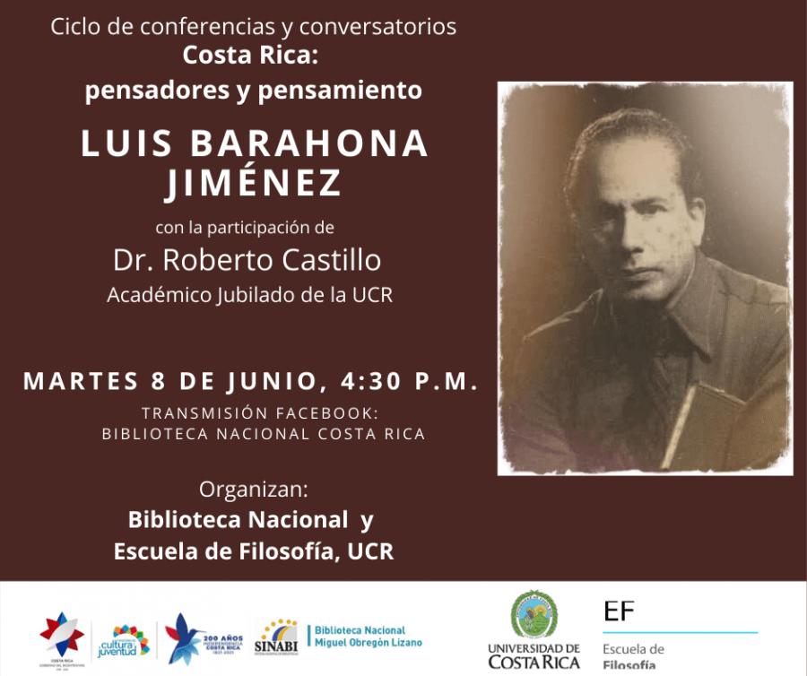 Conferencia. Luis Barahona Jiménez