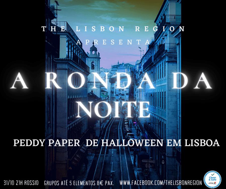 A Ronda da Noite- Peddy-Paper de Halloween em Lisboa