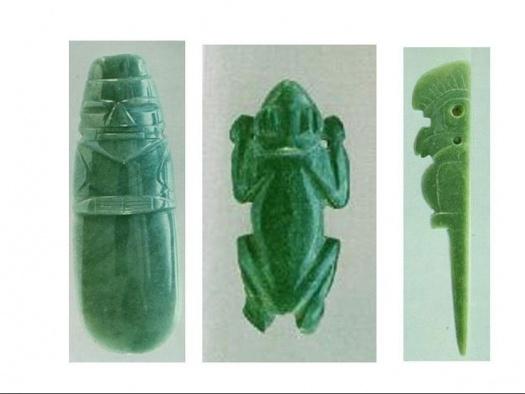 Jade precolombino. Manualidad