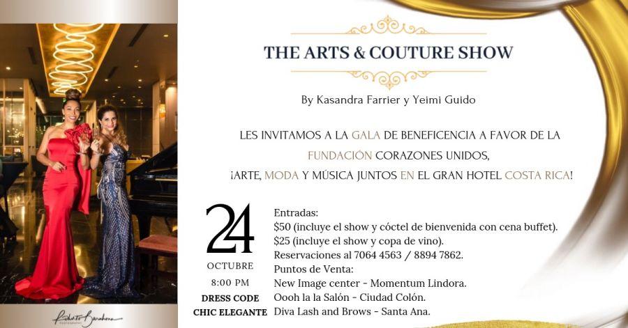 The arts & couture show. Foundation Corazones Unidos