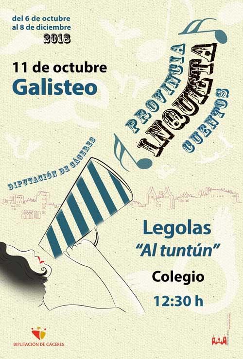 Provincia inquieta | CUENTACUENTOS: Légolas