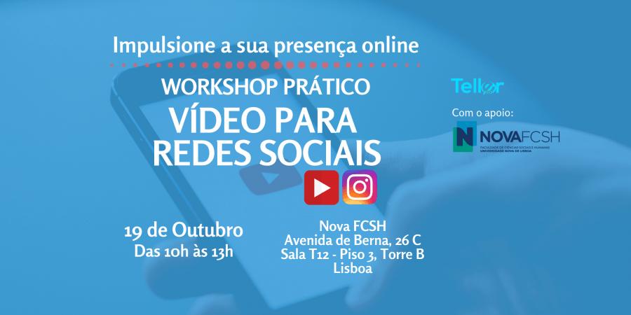 Workshop Prático: Vídeo para Redes Sociais