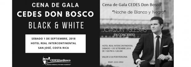 Cena De Gala: Beneficencia Cedes Don Bosco 2018