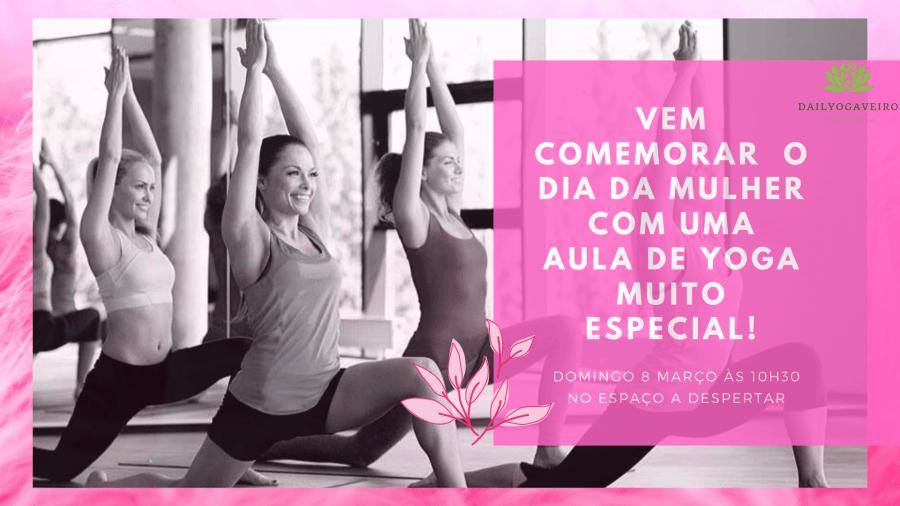 Mindfulness Yoga – Aula Especial - Dia da Mulher - 10h30