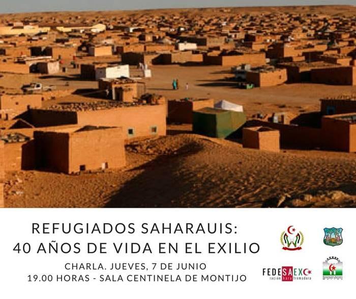 Charla sobre la realidad del pueblo saharaui