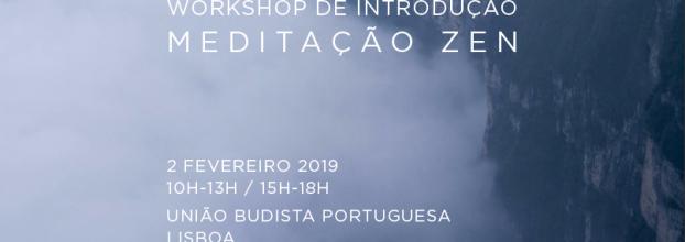 Workshop de meditação Zen e Chi Kung