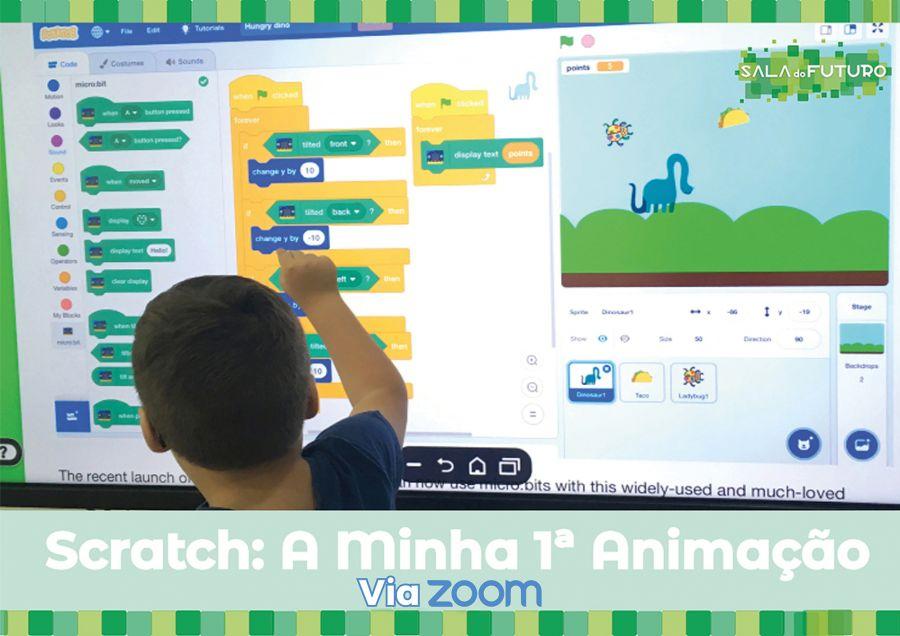 Workshop: A minha 1ª Animação (via Zoom)