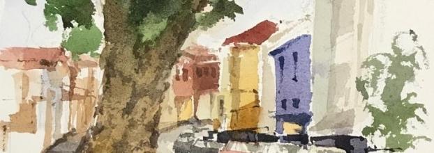 Lo permanente y lo efímero, huellas del barrio Amón. Asociación costarricense de artistas visuales
