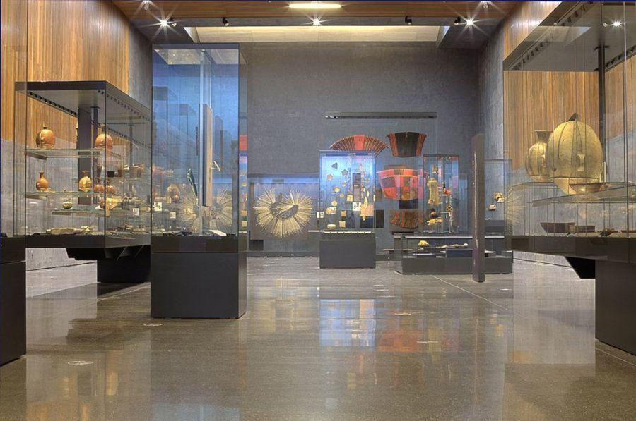 Sala Memoria Ancestral. Objetos etnográficos