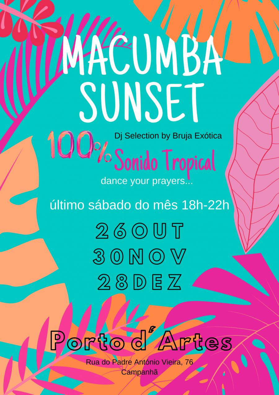 MACUMBA SUNSET » 100% Sonido Tropical