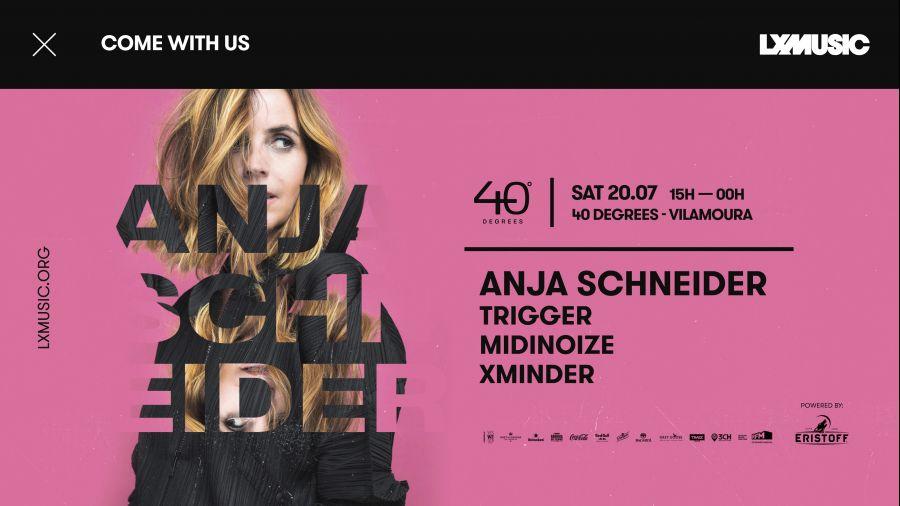 LX Music presents Anja Schneider