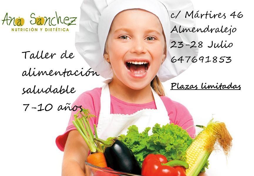 Taller de alimentación saludable para niños