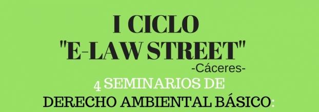CICLO 'E-LAW STREET'  - Derecho Ambiental Básico -