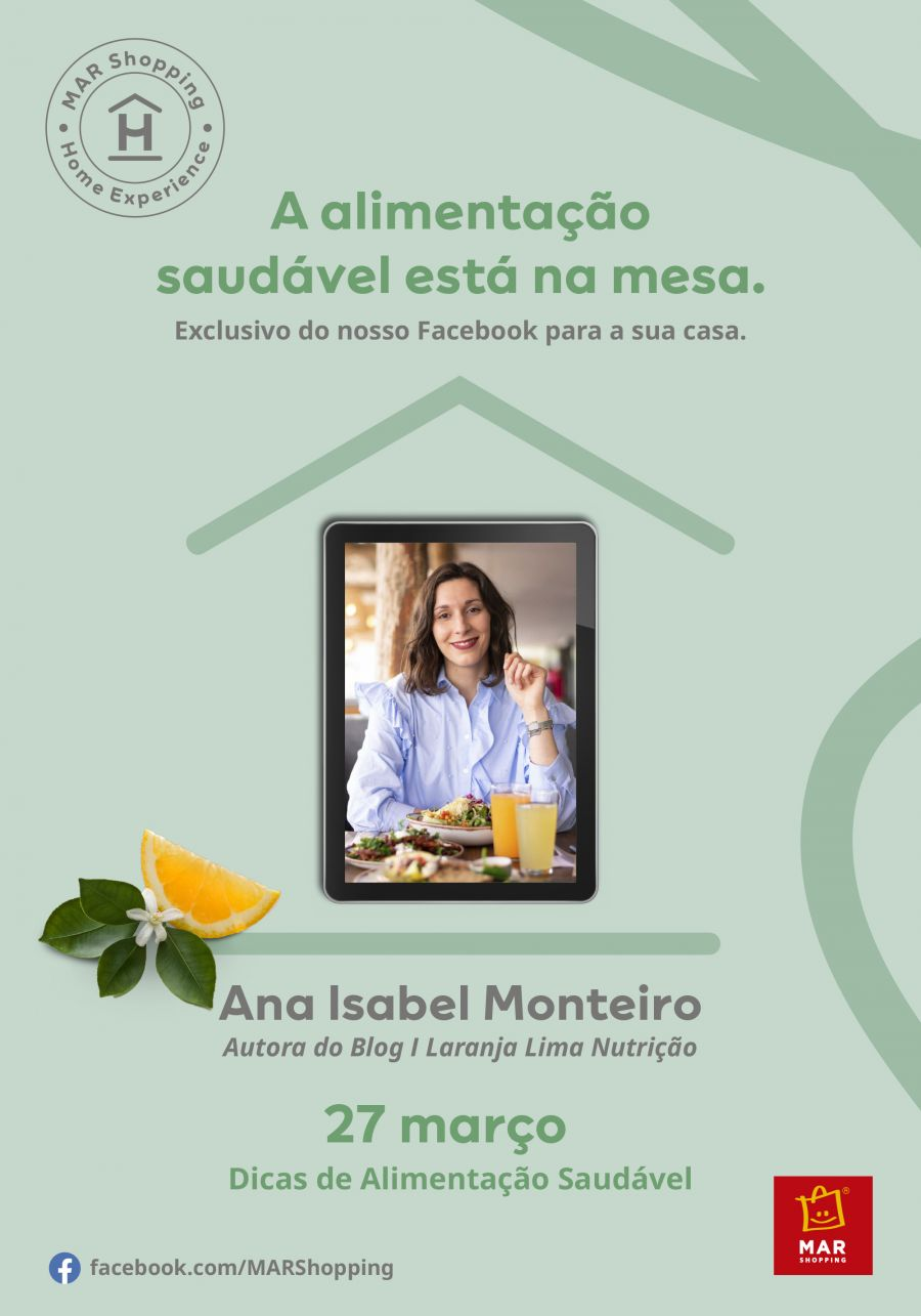 MAR Shopping Home Experience com Laranja Lima