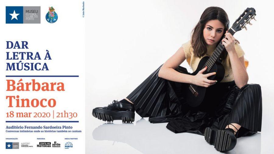 Dar Letra à Música Bárbara Tinoco