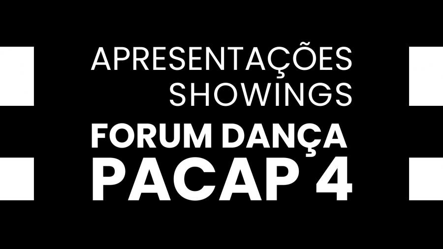 Ciclo de apresentações PACAP 4 - Ciclo #01
