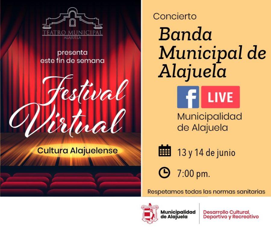 Concierto Banda Municipal de Alajuela