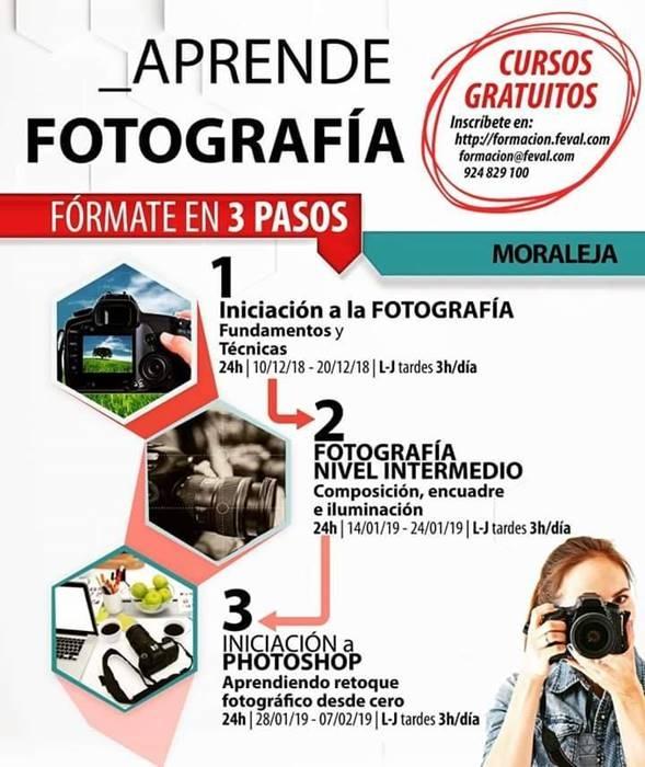 Cursos gratuitos de fotografía | Moraleja