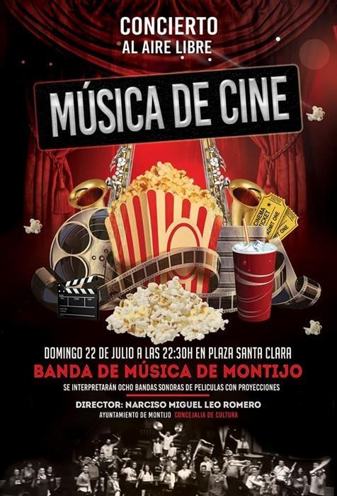 Concierto de la Banda de Música de Montijo: MÚSICA DE CINE
