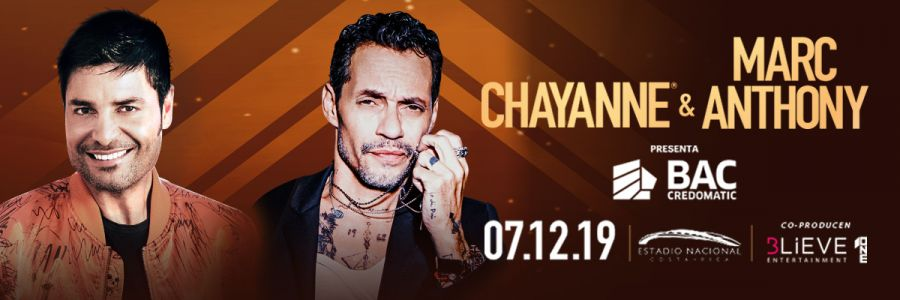 Concierto. Chayanne & Marc Anthony. Balada y salsa
