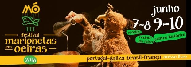 MÓ 2018 - Festival Marionetas em Oeiras - 3 ª ediçãi