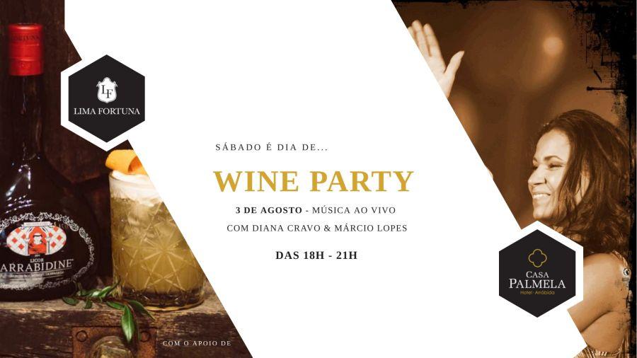 Wine Party Hotel Casa Palmela
