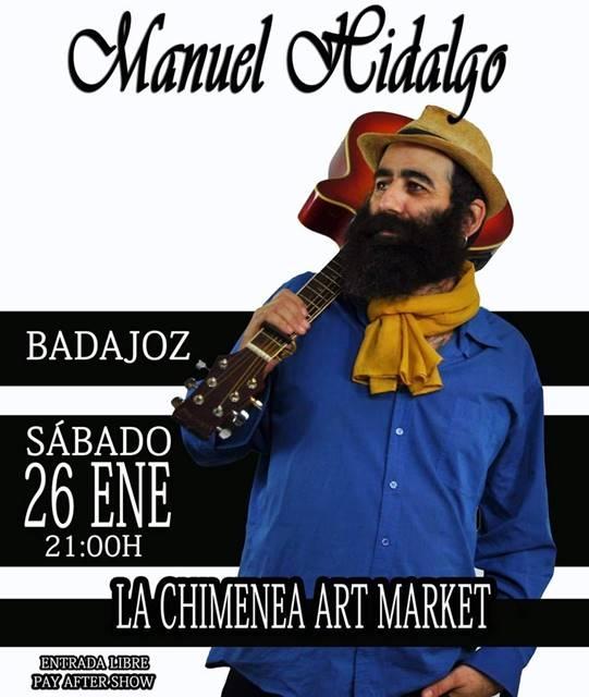 Concierto de Manuel Hidalgo