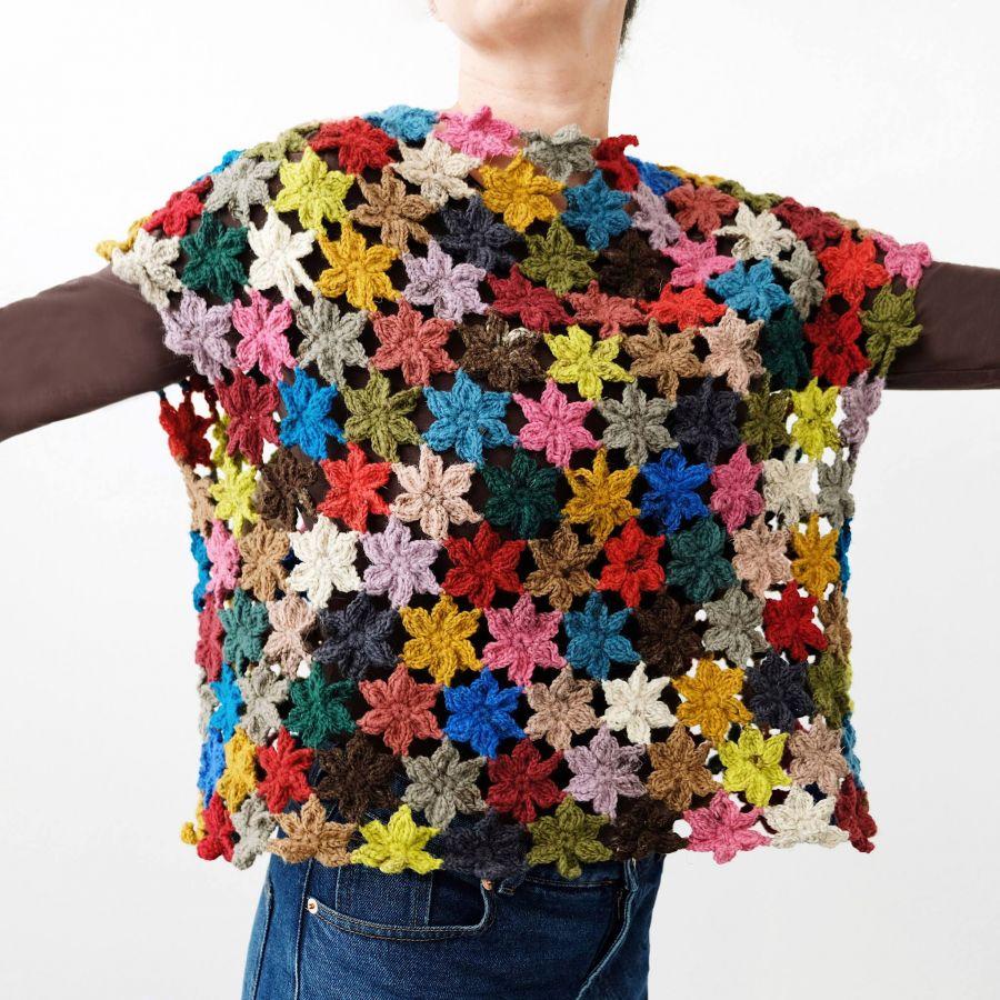 Camisola Jardim - Workshop de Crochet