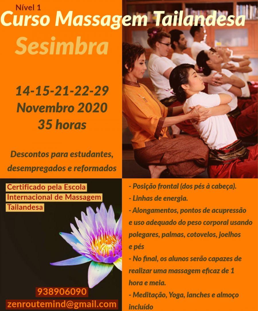 Curso de Massagem Tailandesa