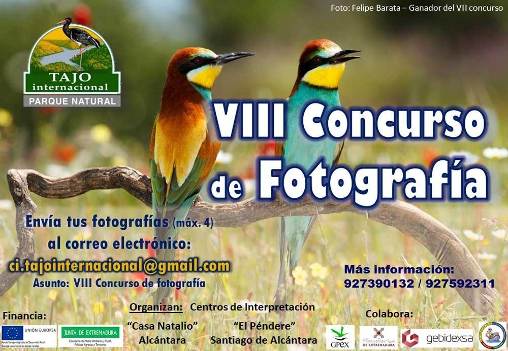 VIII CONCURSO DE FOTOGRAFÍA  PARQUE NATURAL TAJO INTERNACIONAL