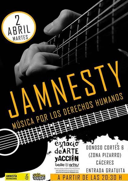 JAMNESTY - Música por los DDHH
