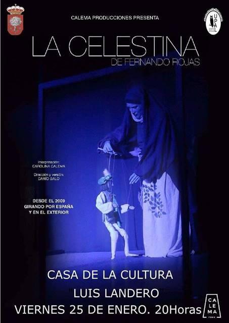 Teatro LA CELESTINA || Casa de la Cultura Luis Landero