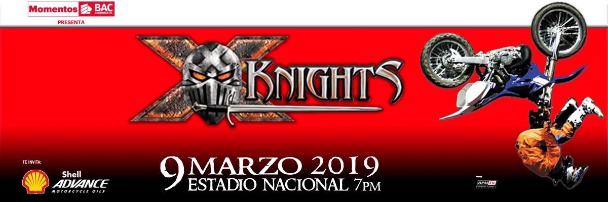 X-Knights. Motociclismo