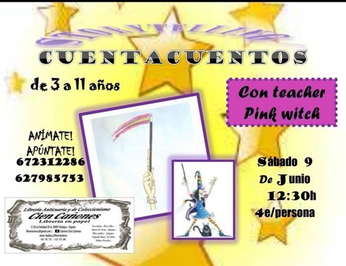 Cuentacuentos con Teacher Pink Witch