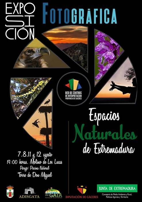 Exposición fotográfica 'Espacios Naturales de Extremadura' || Torre de Don Miguel