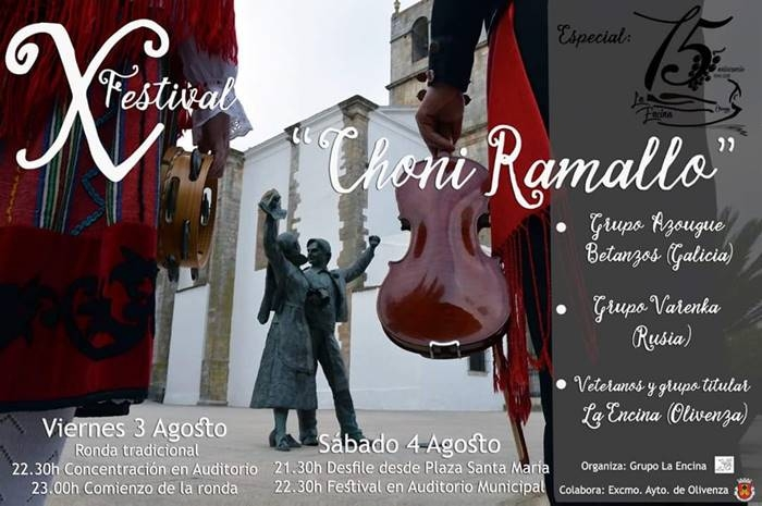 X Festival de Folklore 'Choni Ramallo' en OLIVENZA