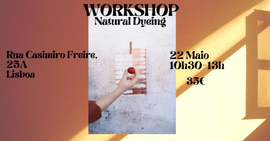 Workshop Tingimento Natural