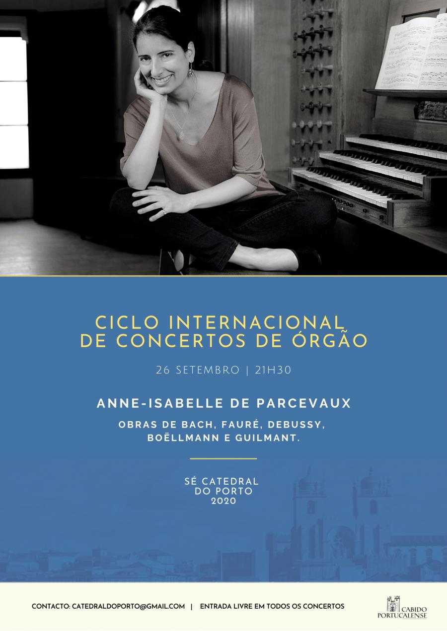 Concerto de Órgão por Anne-Isabelle de Parcevaux