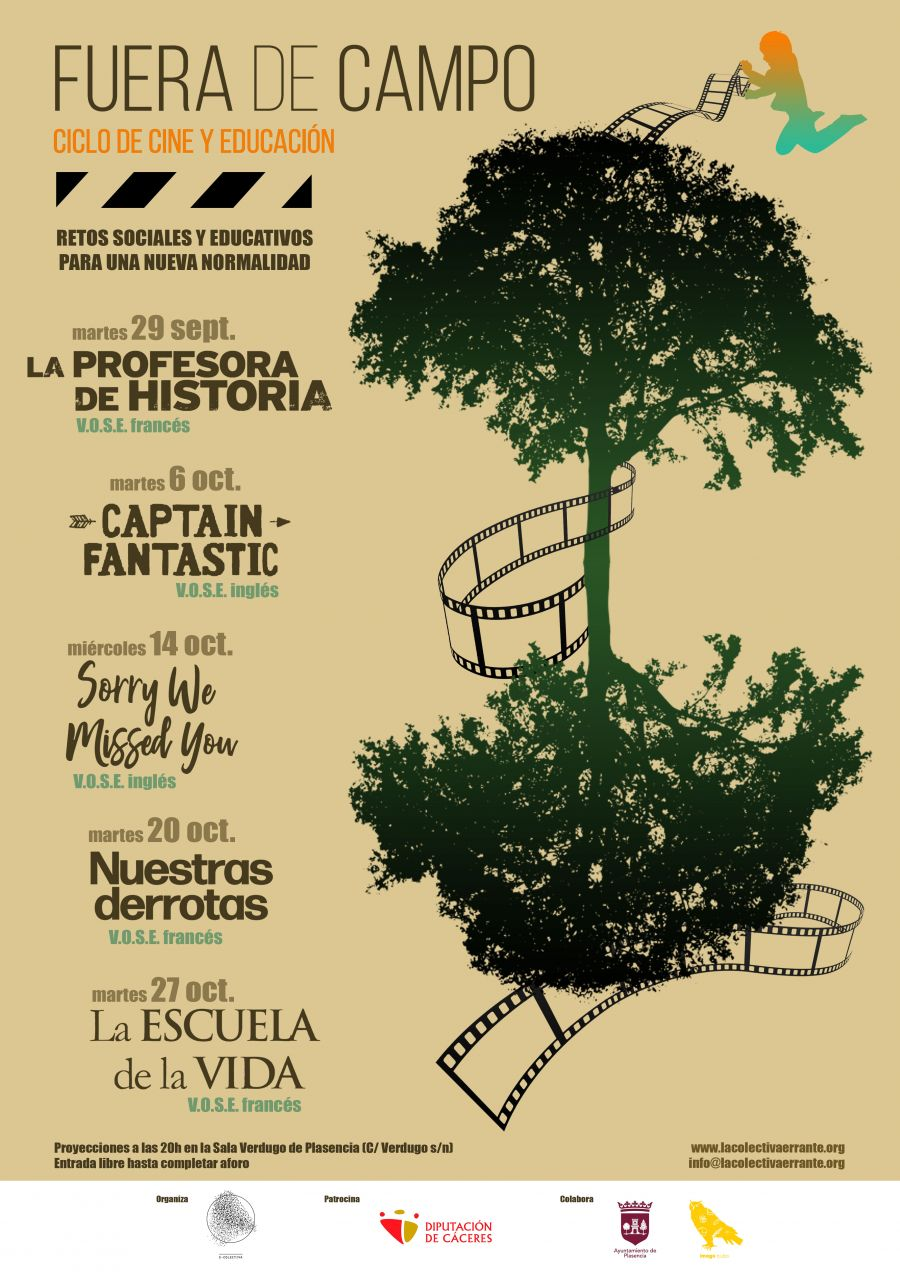 Fuera de Campo 3. Ciclo de cine y educación
