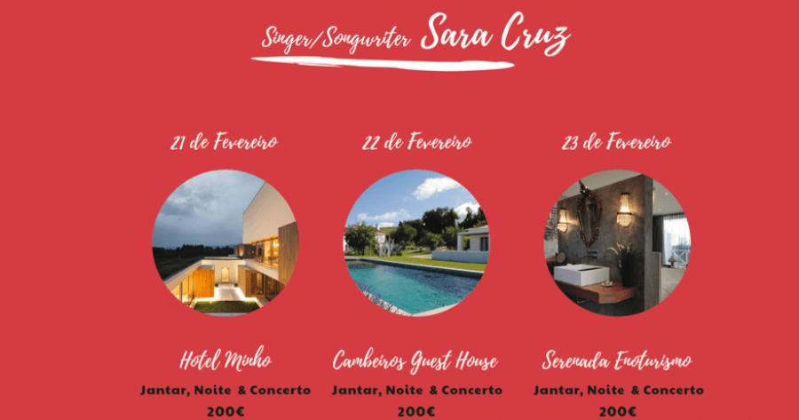Concertos Únicos Sara Cruz