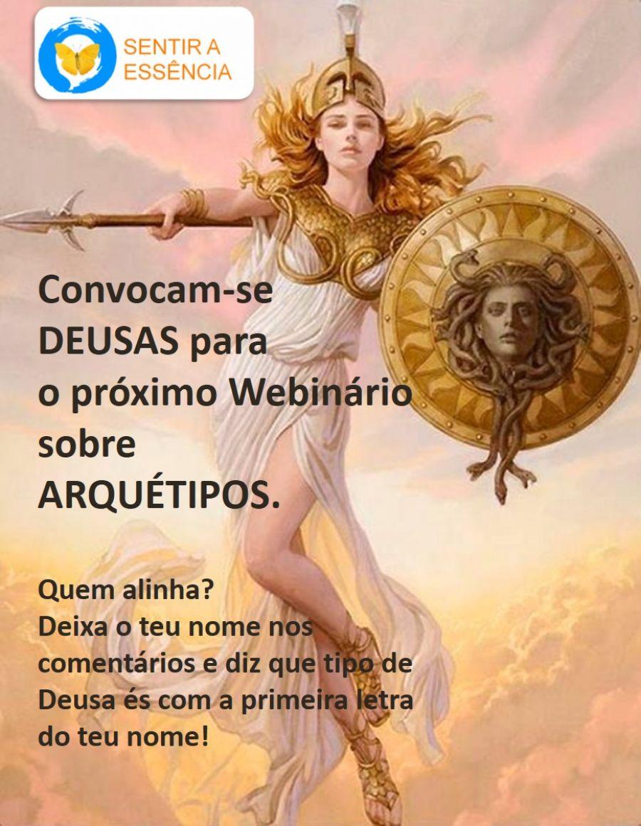 Webinário: Arquétipos das Deusas e os Processos Psicológicos Femininos
