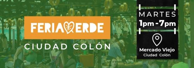 Feria verde. Ciudad Colón. Artesanías, gastronomía y música