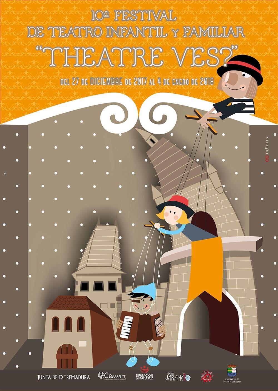 """""""THEATRE-VES?"""" // FESTIVAL DE TEATRO INFANTIL Y FAMILIAR"""