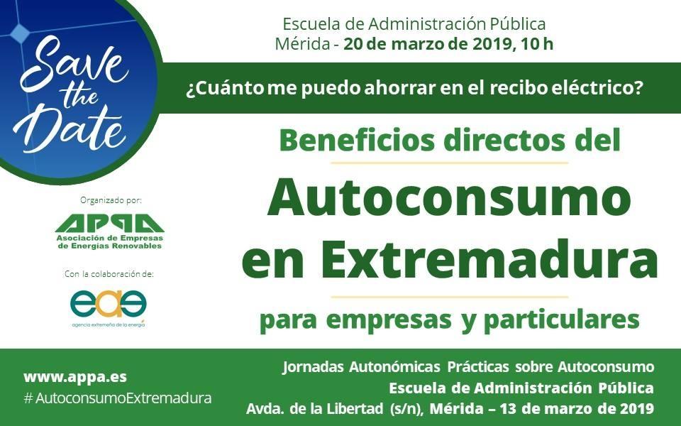 Jornada Gratuita de Autoconsumo en Extremadura