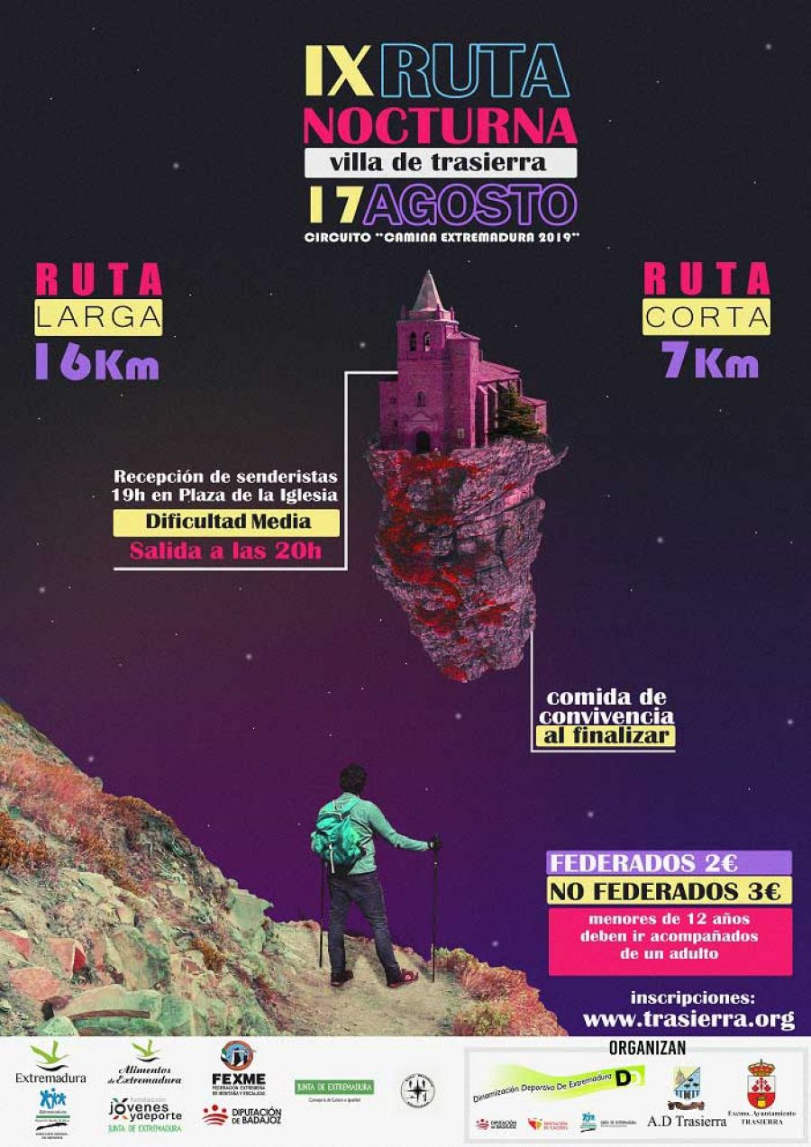 IX RUTA NOCTURNA VILLA DE TRASIERRA